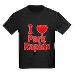 I Love Park Rapids Kids Dark T-Shirt