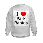 I Love Park Rapids Kids Sweatshirt
