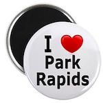 I Love Park Rapids Magnet