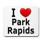 I Love Park Rapids Mousepad