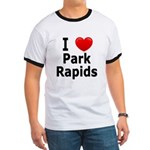 I Love Park Rapids Ringer T
