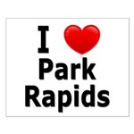 I Love Park Rapids Small Poster