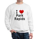 I Love Park Rapids Sweatshirt