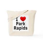 I Love Park Rapids Tote Bag