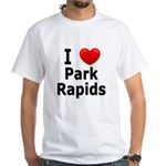 I Love Park Rapids White T-Shirt