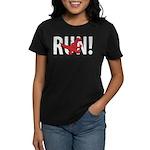 Run Dinosaur! Women's Dark T-Shirt