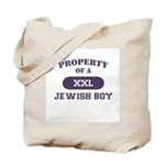 Property of Jewish Boy Tote Bag