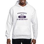 Property of Jewish Boy Hooded Sweatshirt