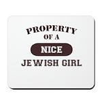 Property of Jewish Girl Mousepad