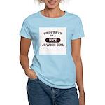 Property of Jewish Girl Women's Light T-Shirt