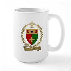 BURKE Family Crest Large Mug