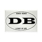 Dewey Beach Rectangle Magnet (10 pack)