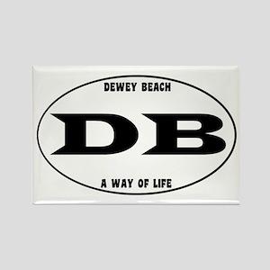 Dewey Beach Rectangle Magnet