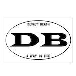 Dewey Beach Postcards (Package of 8)