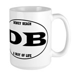 Dewey Beach Large Mug