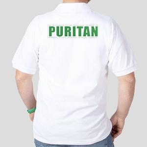 Puritan - 1 Tim 4:12 (Golf Shirt, green)