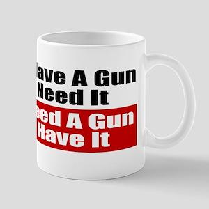 Better to Have a Gun Mug