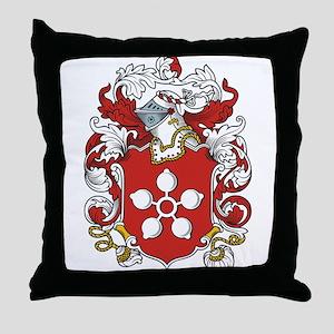 Millet Coat of Arms Throw Pillow