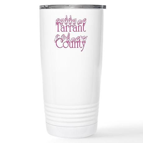 Tarrant County Stainless Steel Travel Mug