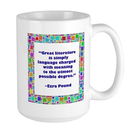 Great Literature Large Mug