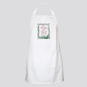 Childhood Spent With A Book Apron