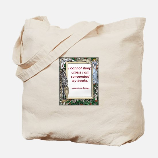 Surrounded By Books Tote Bag