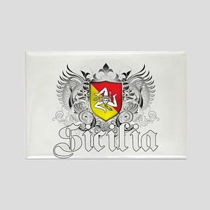 Sicilian Pride Rectangle Magnet