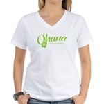 Geeks Central Ohana Women's V-Neck T-Shirt