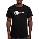 Geeks Central Ohana Men's Fitted T-Shirt (dark)