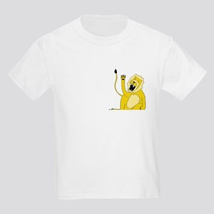 hello lion kids t-shirt