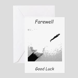 Human Cannonball Greeting Card