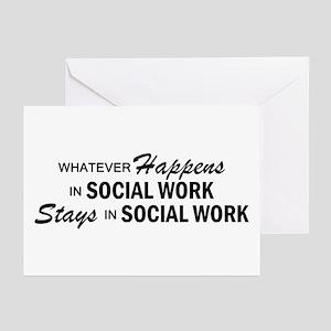 Whatever Happens - Social Work Greeting Cards (Pk