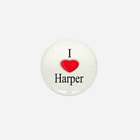 Harper Mini Button