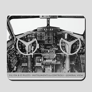 B-17 Cockpit Mousepad