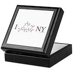 I love New York NY Keepsake Box