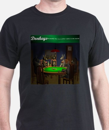 """""""The best table in the world"""" T-Shirt"""