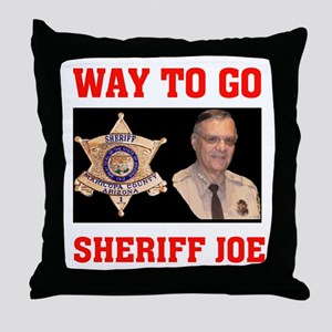 DEFEND OUR BORDER Throw Pillow