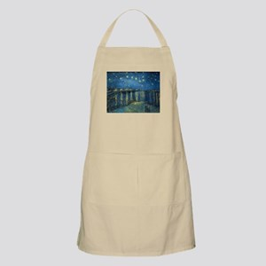 Van Gogh: Starry Night Over the Rhone Light Apron