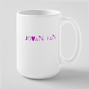 Large Mug-JOVAN FAN WEAR!