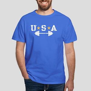 USA Weightlifting Dark T-Shirt