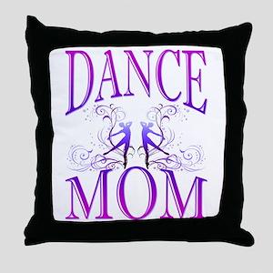 Dance Mom Throw Pillow