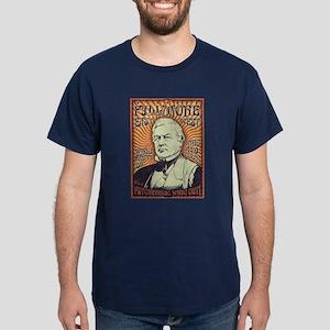 Millard Fillmore -Whig Out Dark T-Shirt