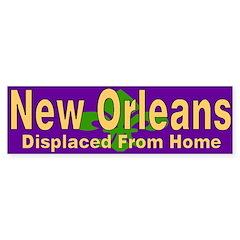 I Love New Orleans Bumper Bumper Sticker