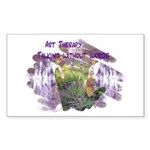 Art Therapy Sticker (Rectangle 10 pk)