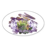 Art Therapy Sticker (Oval 10 pk)