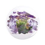 "Art Therapy 3.5"" Button"