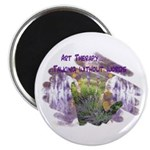 "Art Therapy 2.25"" Magnet (10 pack)"
