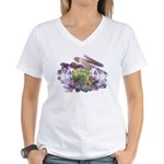 Art Therapy Women's V-Neck T-Shirt