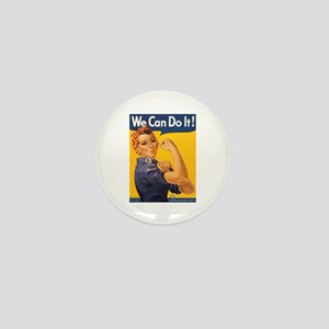 We Can Do It Poster Mini Button