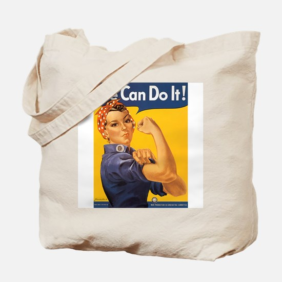 We Can Do It Poster Tote Bag